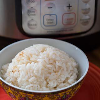 Presssure Cooker Coconut Rice.