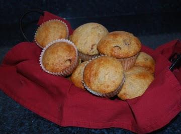Banana Cranberry Muffins Recipe
