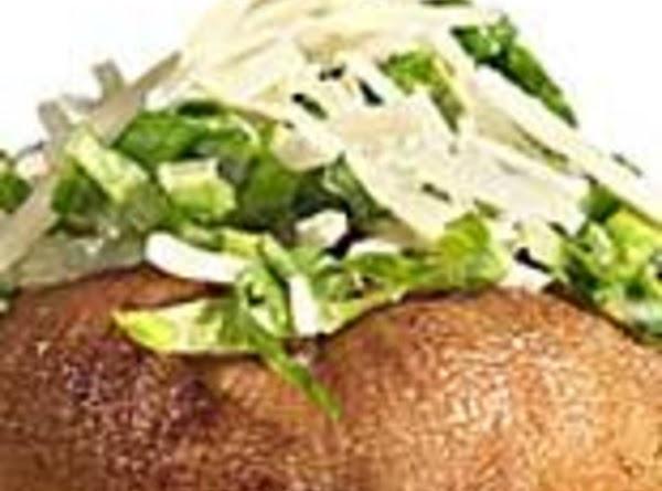 Caesar Salad Stuffed Mushrooms Recipe