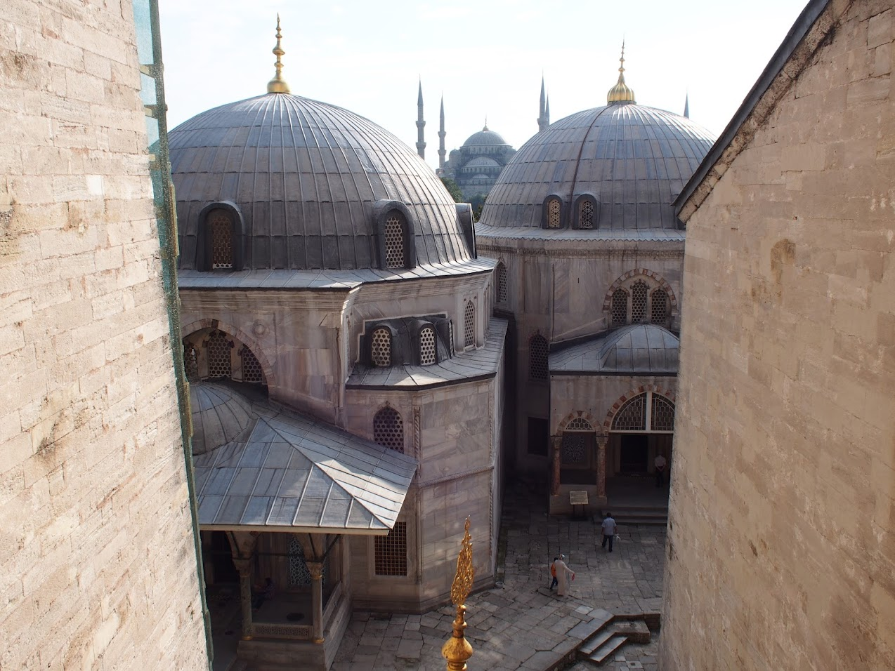 Hagia Sophia window view