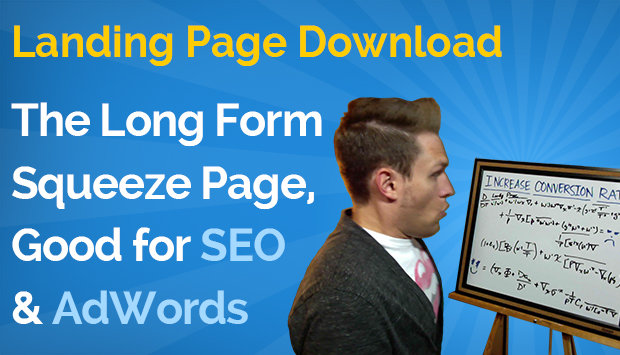 Long Form Squeeze Page