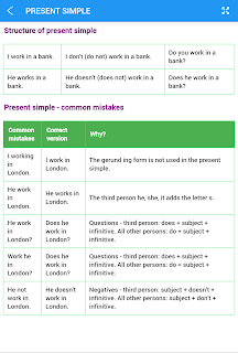 English Tenses screenshot 21