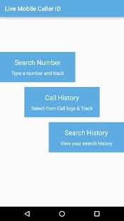 Live Mobile Caller-ID Tracker screenshot