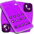 Purple Diamonds Launcher Theme icon