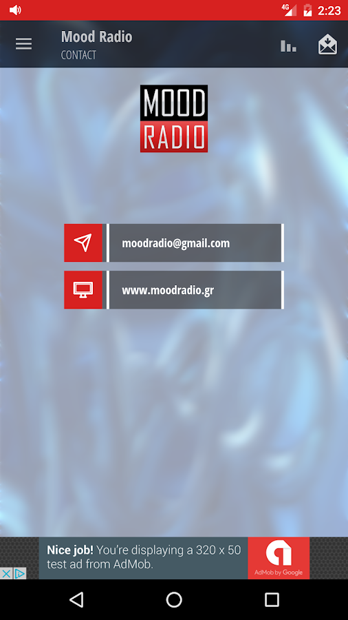 Mood Radio- screenshot