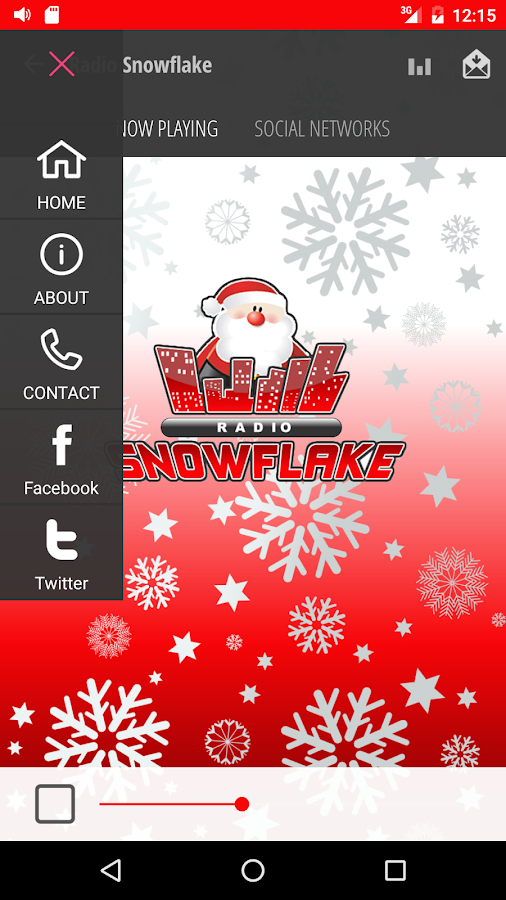 Radio Snowflake- screenshot