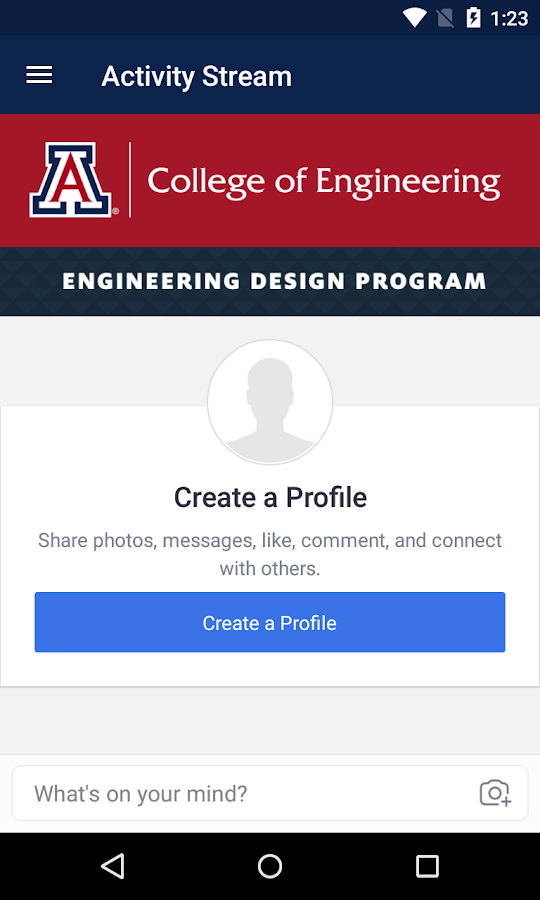 UA Engineering Design Day 2017- screenshot