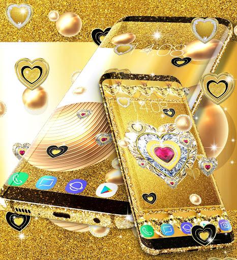 Gold live wallpaper 2020 android2mod screenshots 4