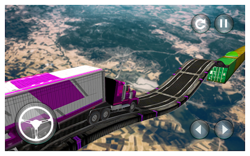 Impossible Tracks Cargo Transport Truck Driving 3D - náhled