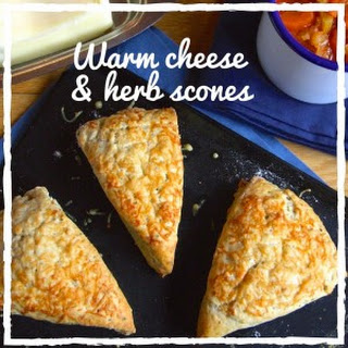 Cheese And Herb Scones.