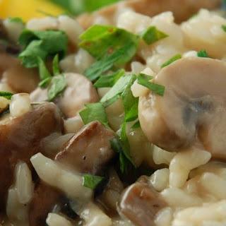 Gourmet Mushroom Risotto.