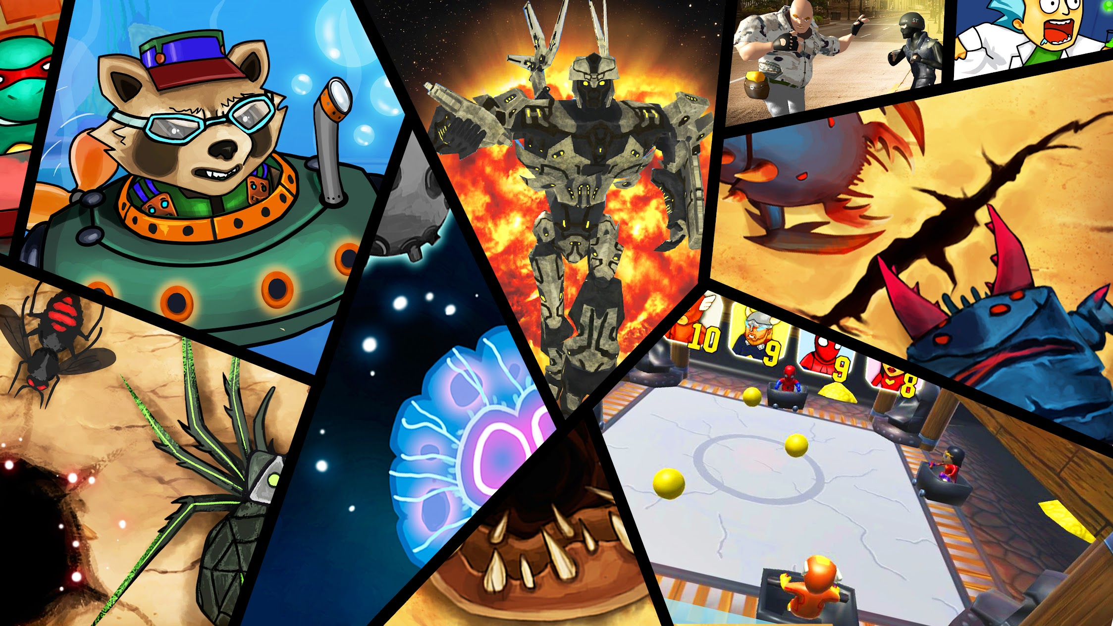 Coon Games Evolution