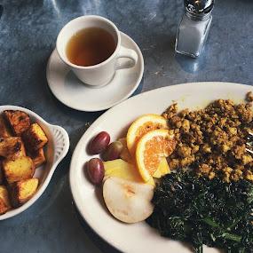 Vegan brunch  by Emma King - Food & Drink Plated Food ( vegan, food, restaurant,  )