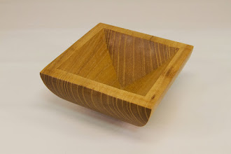 "Photo: Tina Chisena 4 3/4"" x 4 3/4"" x 2 1/2"" Vessel [locust]"