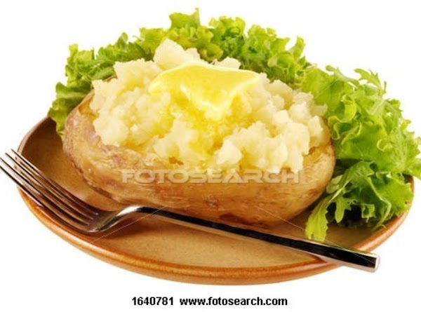 Most Flavorfull Baked Potatoes Recipe
