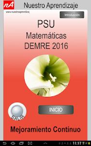 PSU Matemática Prueba Ensayo screenshot 0