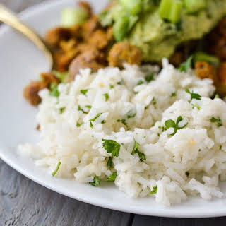 Copycat Chipotle Cilantro Lime White Rice.