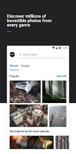 500px – Discover great photos Premium v5.6.1 Cracked APK 1