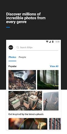 500px – Discover great photos v5.9.7 b59701 [Premium]