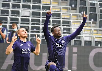 Anderlecht won thuis van STVV