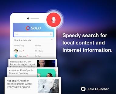 Solo Launcher-Fast,Boost,Smart - screenshot thumbnail