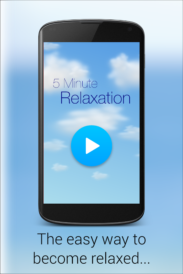 5 Minute Relaxation - Quick Guided meditation- screenshot