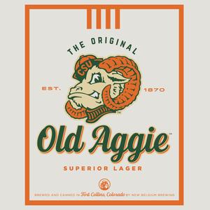Logo of New Belgium Old Aggie Superior Lager