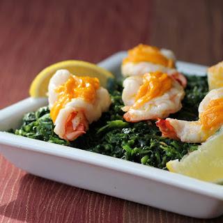 Shrimp with Egg yolk Sauce