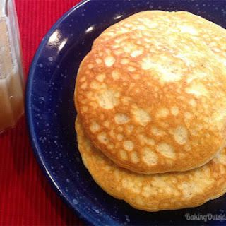 Low Carb Pancakes for 1