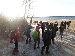 Photo: Выход на берег Учинского водохранилища