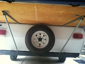 Photo: Spare tire, wood in good shape