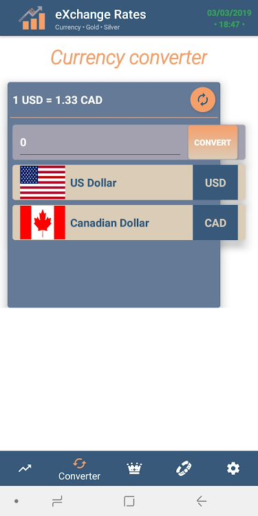Ccy Currency Converter Exchange Rate