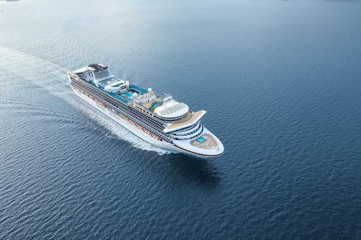 diamond-princess-at-sea.jpg -   Diamond Princess sails to Australia, New Zealand and a variety ports in Asia.