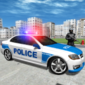 Police Car Driver City