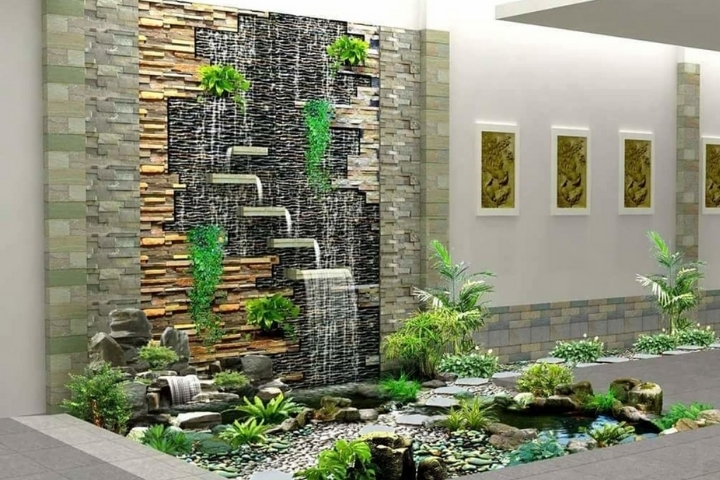 Gạch thường được bố trí tăng độ bền cho thiết kế