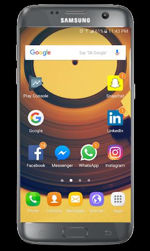 J7 Prime launcher 1.3.9 screenshots 1