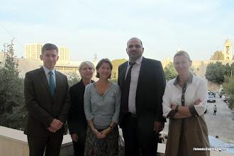 Photo: Rencontre du Maire adjoint de Bethléem