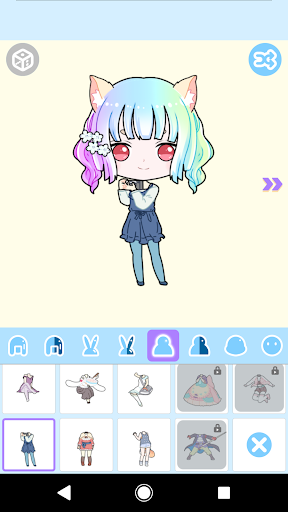 Cute Avatar Maker: Make Your Own Cute Avatar 2.0.2 Screenshots 3