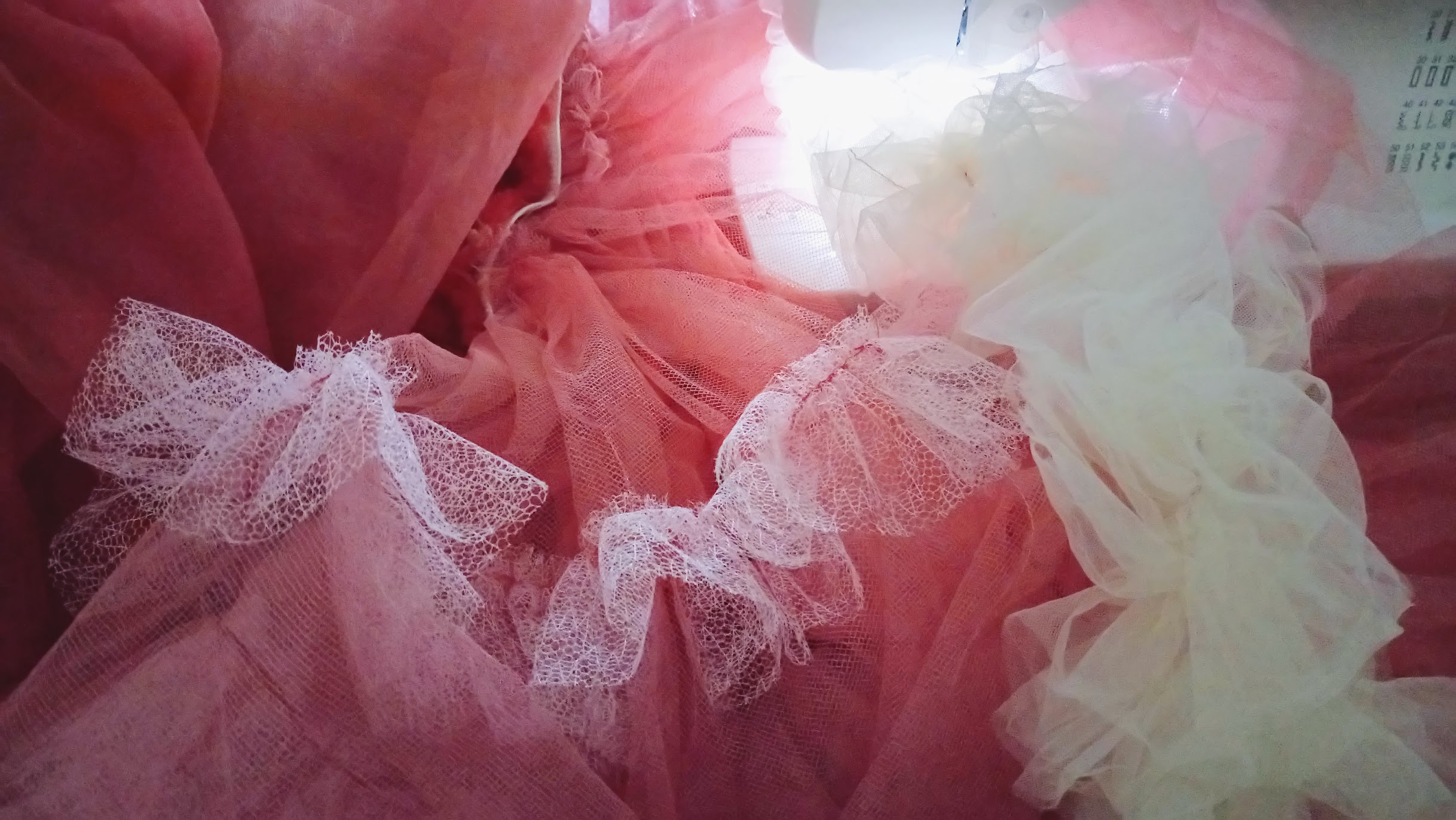 Crinoline In-Progress: Bubblegum Dreaming Cage Dress - DIY Fashion Garment | fafafoom.com