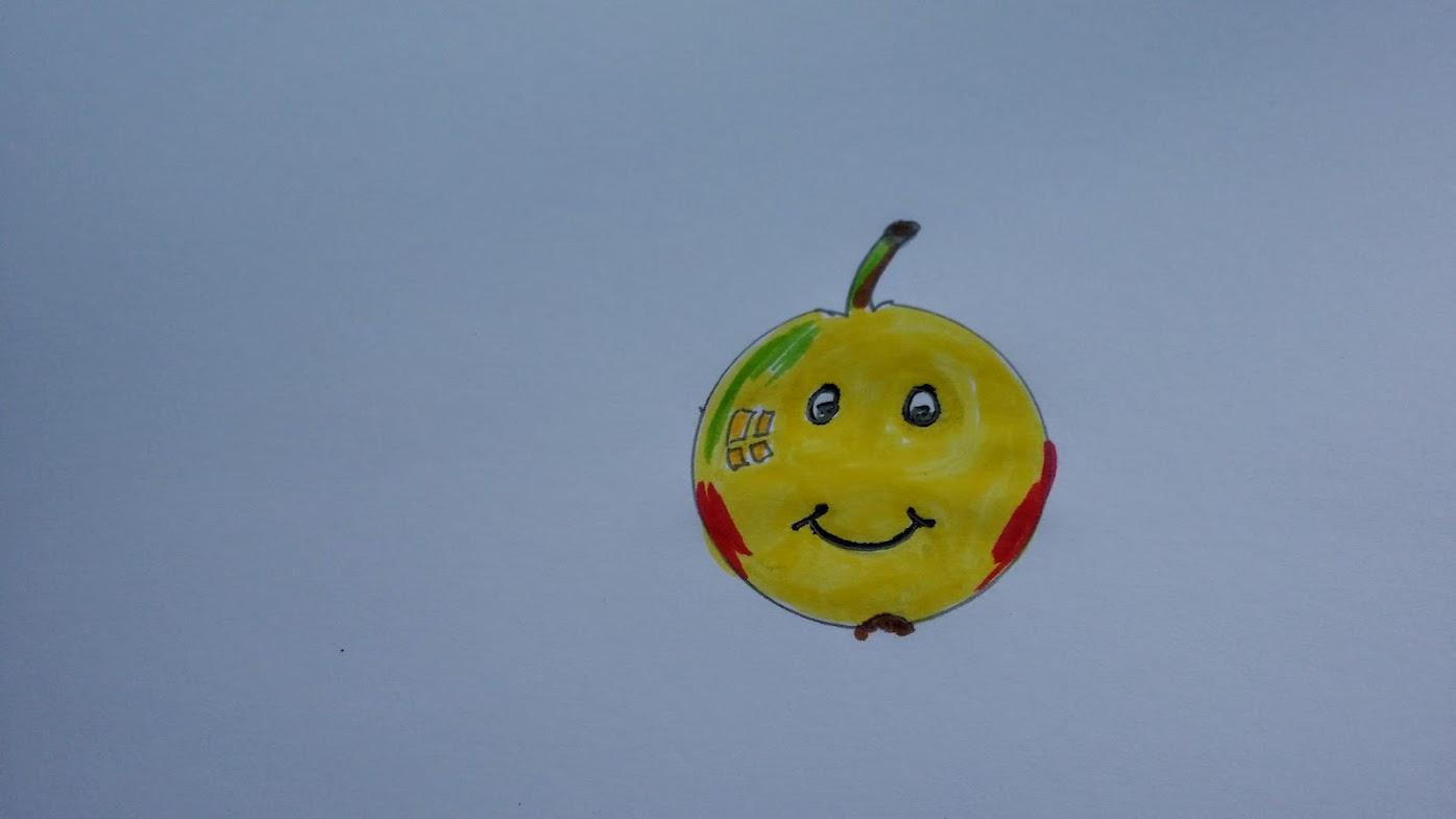 Door de zure appel heen bijten