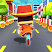 KIDDY RUN - Blocky 3D Running Games & Fun Games
