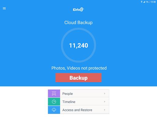 IDrive Online Backup 4.2.4 screenshots 6