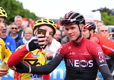 Huit ans après, Chris Froome a reçu son maillot rouge de la Vuelta 2011