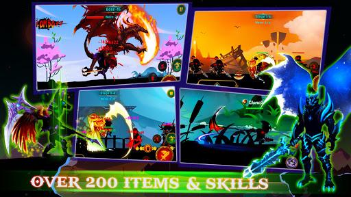 Demon Warrior Premium - Stickman Shadow Action RPG 6.2 screenshots 1