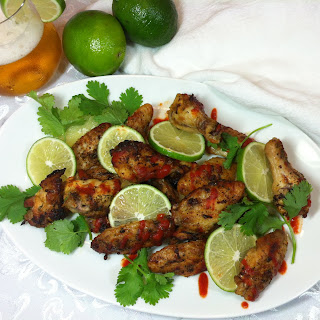 Lime Cilantro Chicken Wing.