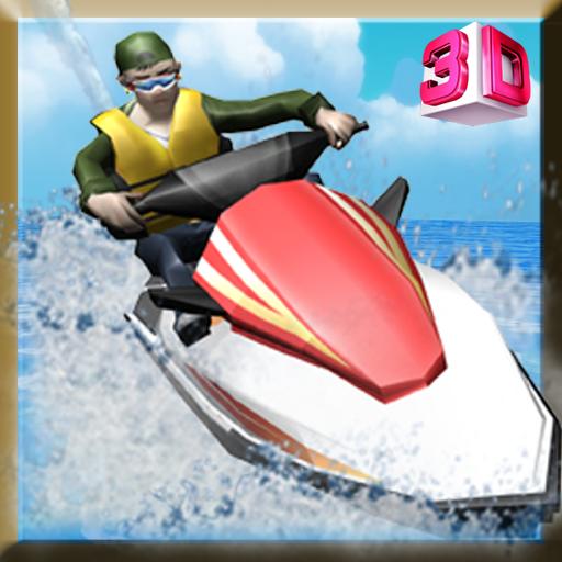噴氣滑雪模擬器 模擬 LOGO-玩APPs