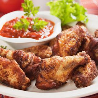 Brown Sugar Chicken Wings.