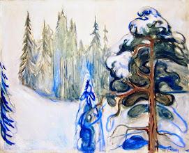 "Photo: Edvard Munch, ""Inverno"" (1899)"