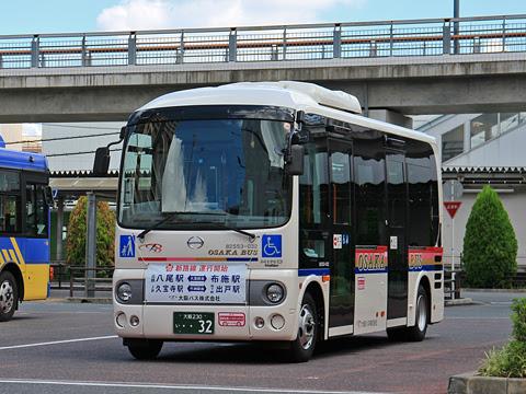 大阪バス 久宝寺出戸線 ・・32 久宝寺駅にて その1