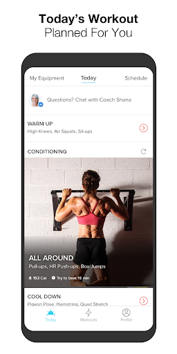 Keelo - Strength HIIT Workouts WOD at Home & Gym screenshot 1
